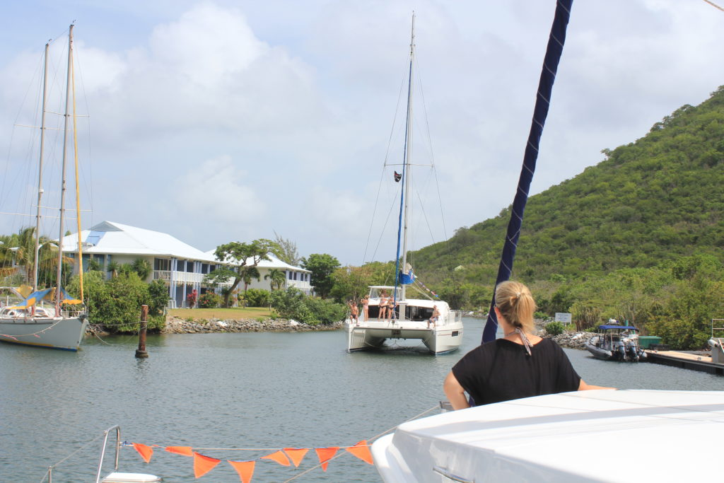 Sail St Martin - Coming Out of Anse Marcel Channel